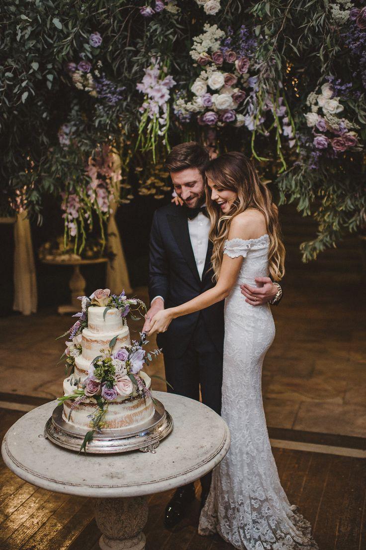 Elegant Spring Garden Wedding // By Lauren Campbell