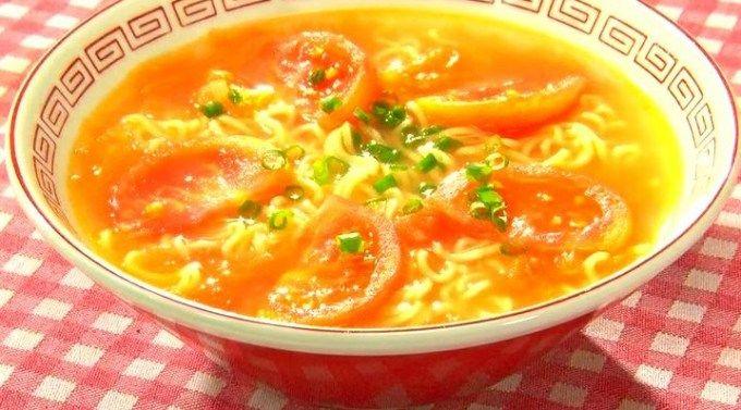 この差って何ですか トマトの差!『トマト塩ラーメン』作り方レシピ!
