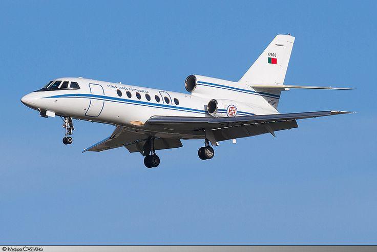 LBG   Dassault Falcon 50 Força Aerea Portuguesa   17403