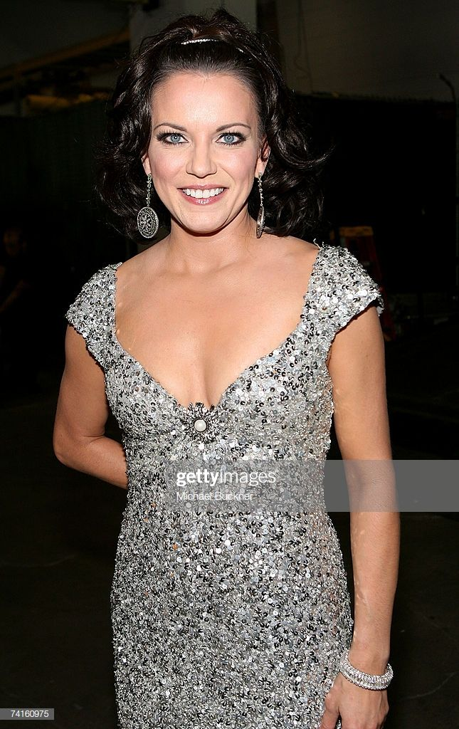 Singer Martina Mcbride backstage at the 42nd Annual