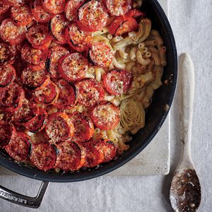 Roasted Tomato Mac n Cheese | MyRecipes.com Make this dish gluten-free by using the brown rice elbow pasta and brown rice flour options listed in the ingredients.