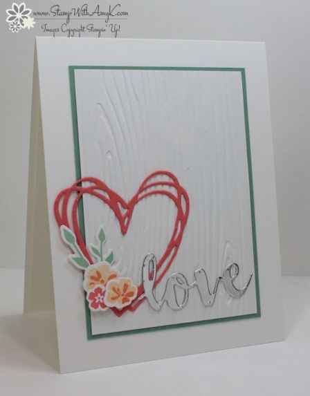 Stampin' Up! Jar of Love With Sunshine Wishes (Stamp With Amy K)