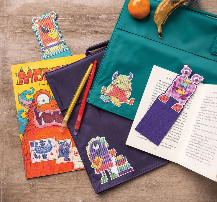 Reading Monsters Cross Stitch Crazy Issue 230 July 2017 Zinio Saved