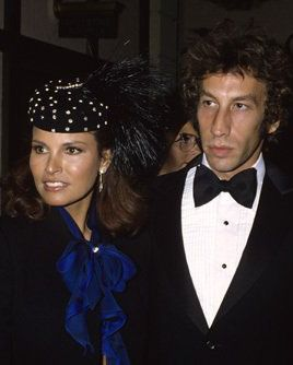 Raquel Welch & Husband Andre Weinfeld at the premiere of ...