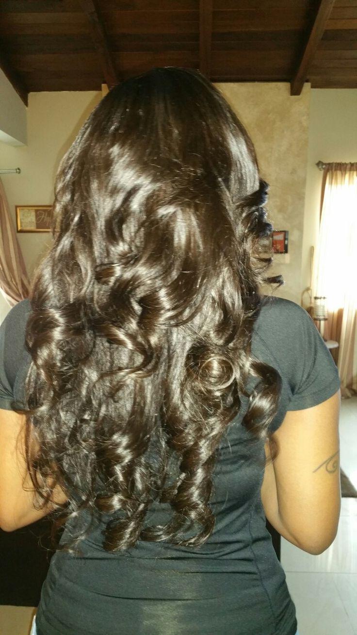 Full weave Italian human hair  818 613 8449..