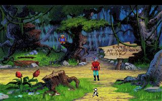 king's quest background art - Google Search