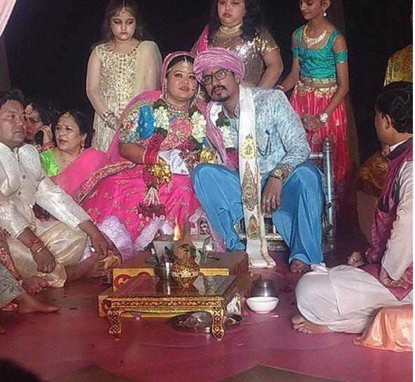 Bharti Singh And Harsh Limbachiyaa Got Married In Goa