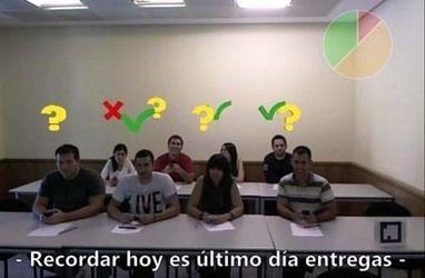 Una clase en Madrid