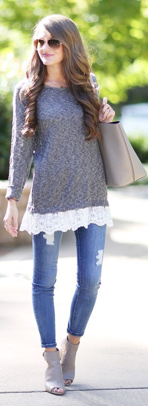School Girly Fall Inspo by Southern Curls and pearls