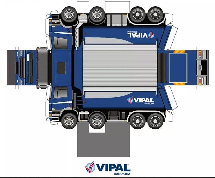 Imprimiveis (Printable) | Caminhão | Vipal