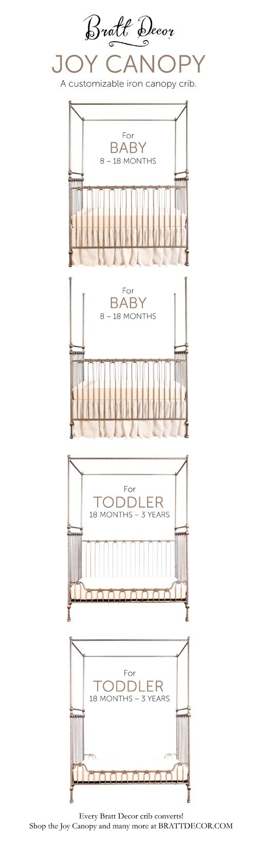 Crib for sale sheffield - Joy Canopy Crib Converts From A Baby Crib To A Toddler Bed Convertible