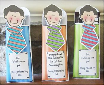 Father's Day Homemade Gift Ideas Candy Bar Wrappers