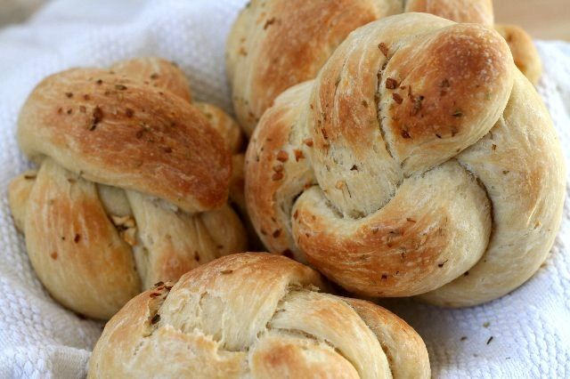 Pan de ajo. Esto sí que lo tenemos que probar!!!!!
