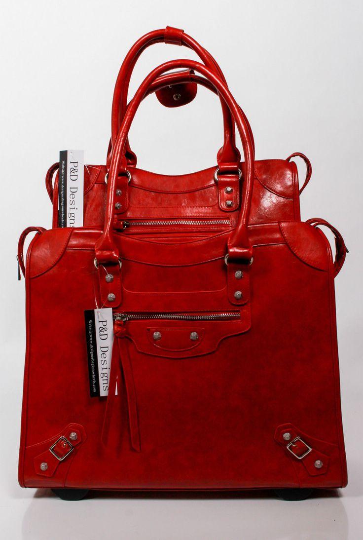 laptop designer bags on wheels p d anna collection black. Black Bedroom Furniture Sets. Home Design Ideas