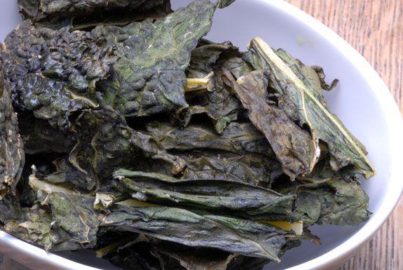 salt and vinegar kale chips