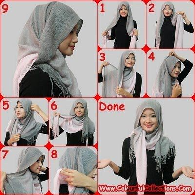 How to wear hijab