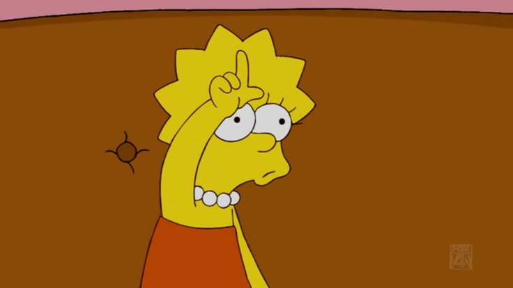 Lisa Simpson is my spirit animal