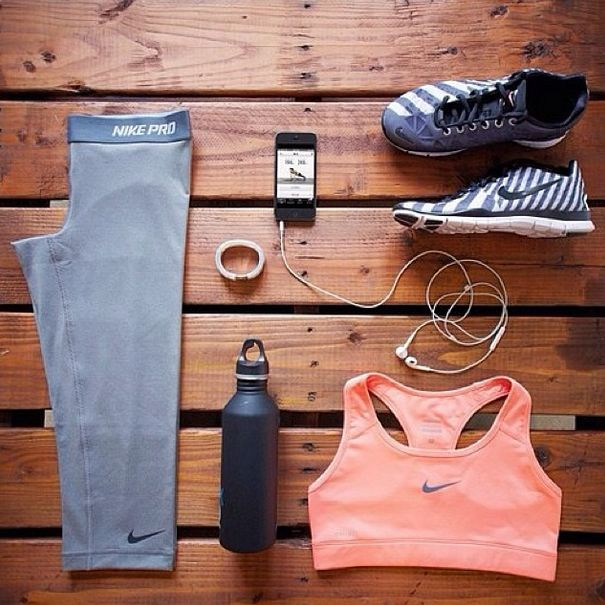 Perfect summer workout outfit. It's always important to feel comfortable and cute to boost confidence.