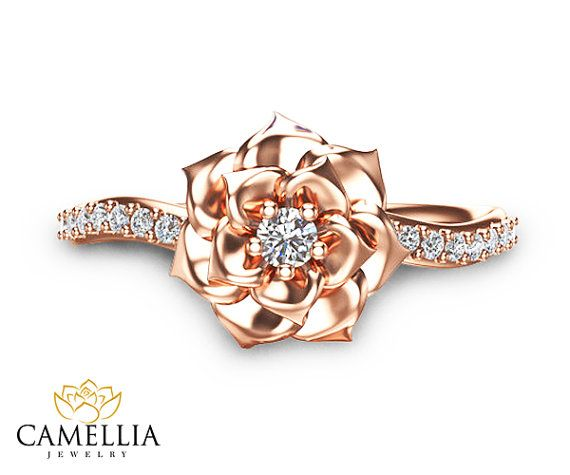Hey, I found this really awesome Etsy listing at https://www.etsy.com/ca/listing/223092213/camellia-flower-ring-14k-rose-gold