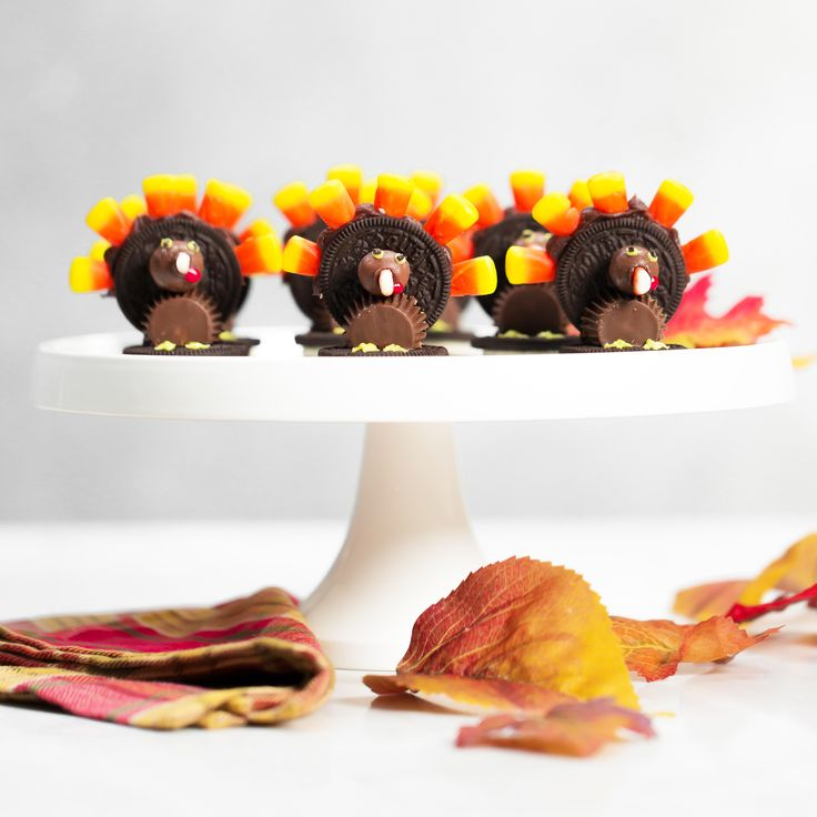 Chocolate Candy Thanksgiving Turkeys--Southernliving.com