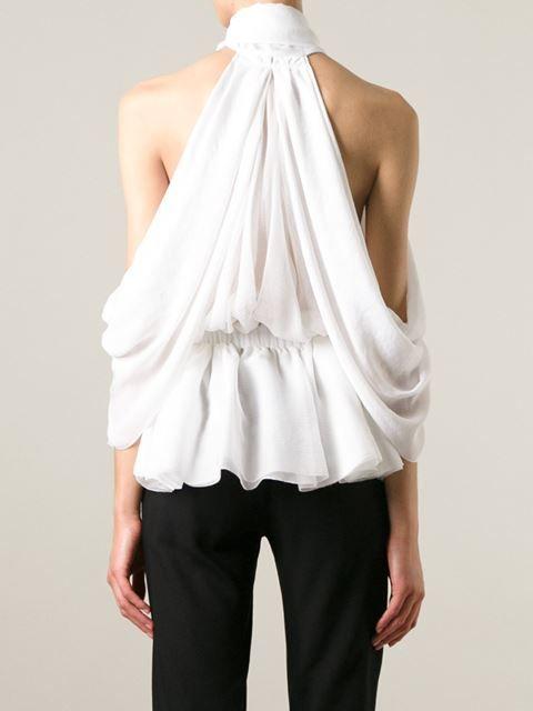 Givenchy Voluminous Pussy Bow Top - Tessabit - Farfetch.com