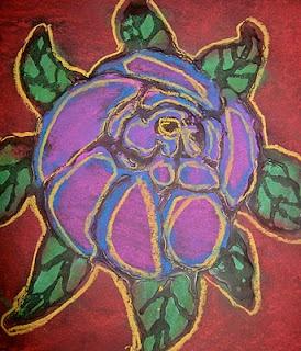 Bog from a an elementary art teacher: Art Lessons, Vinci Wings, Art Ideas, Pastel Flowers, Flowers Art, Da Vinci, Chalk Pastel, Flowers Drawings, 2Nd Grade