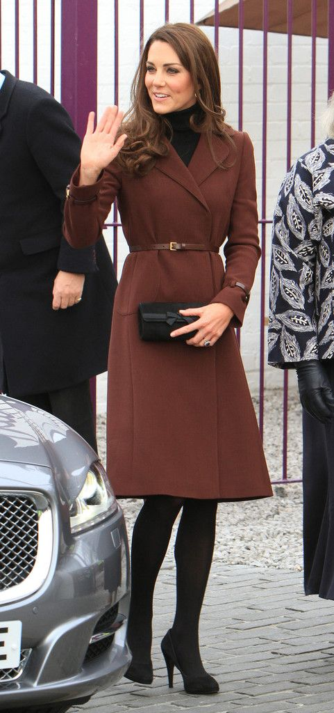 The Duchess of Cambridge Kate Middleton continues her solo duties as she visits The Brink Trade Co. in Liverpool, UK on February 14, 2012.