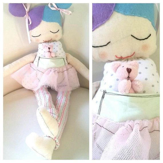 A beautiful ragdoll named coral, available on etsy, completely unique and one off special, girls, soft toy