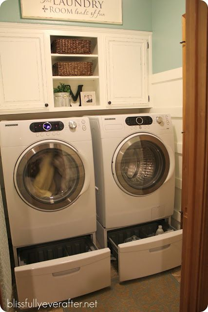 Spring Cleaning Challenge {Laundry Room Organization} - Blissfully Ever After