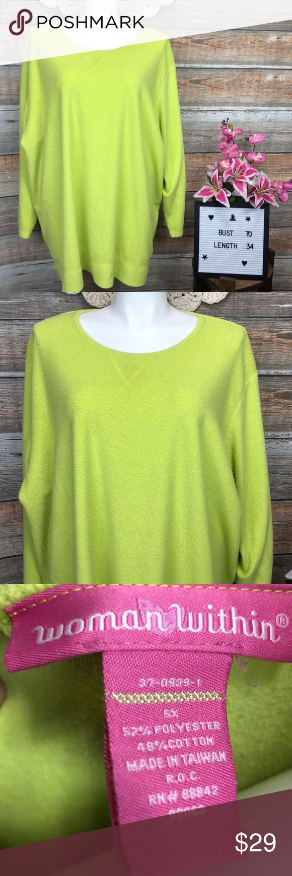 Women Within 5x Fuzzy Oversized Pullover…