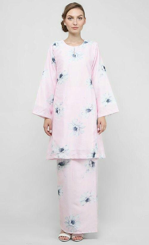 Aziza pesak gantung kurung in pink I fashionvalet.com