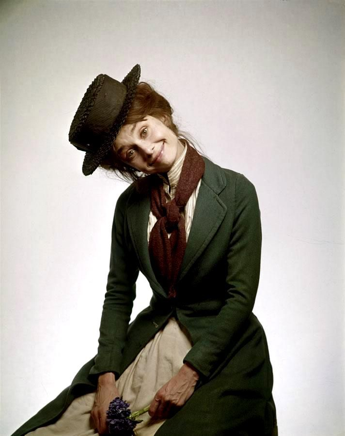 Audrey Hepburn as Eliza Doolittle (My Fair Lady, 1964) Costumes by Cecil Beaton