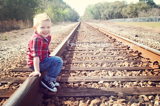 Photography , my son turning 3 and in love with trains. what better location than the train depot
