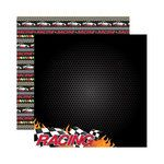 Reminisce - Signature Series Collection - 12 x 12 Double Sided Paper - Racing
