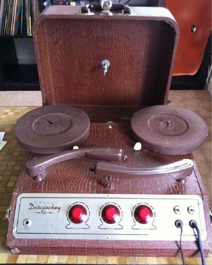 1950s DJ deck #throwbackthursday
