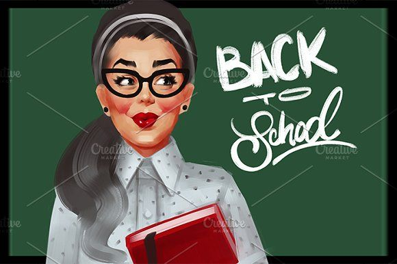 Back to school by Irene on @creativemarket