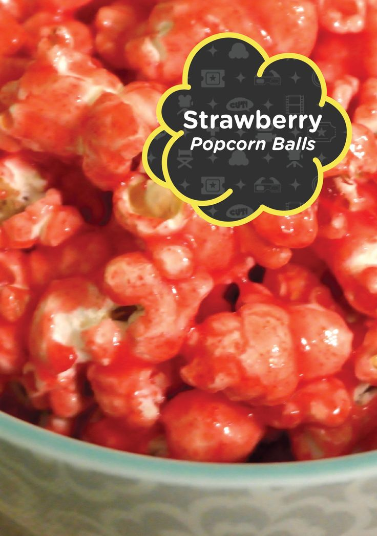With 4 ingredients, you can create these deliciously fruity Strawberry Popcorn Balls. Putting a twist on the traditional recipe  is a great way to make this snack ideal for spring.