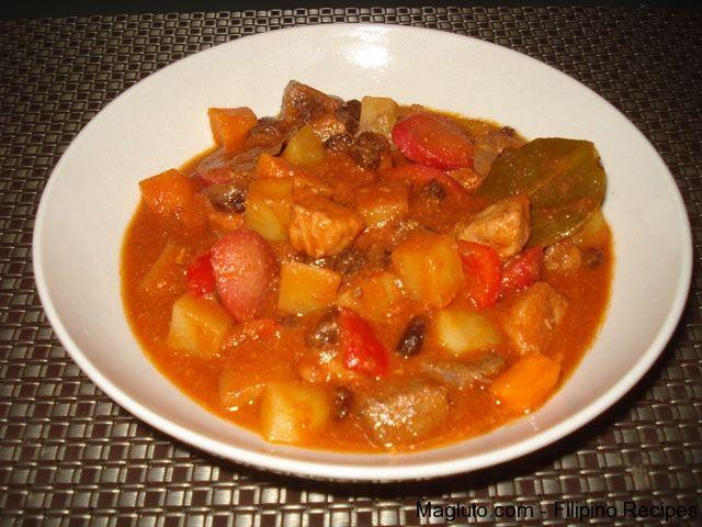 Filipino Recipe Menudo