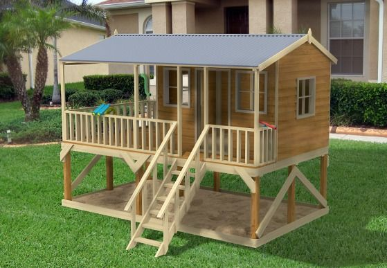 Ultimate Backyard Playground :  Cubby Houses on Pinterest  The amazing, Sand pit and Imaginative play