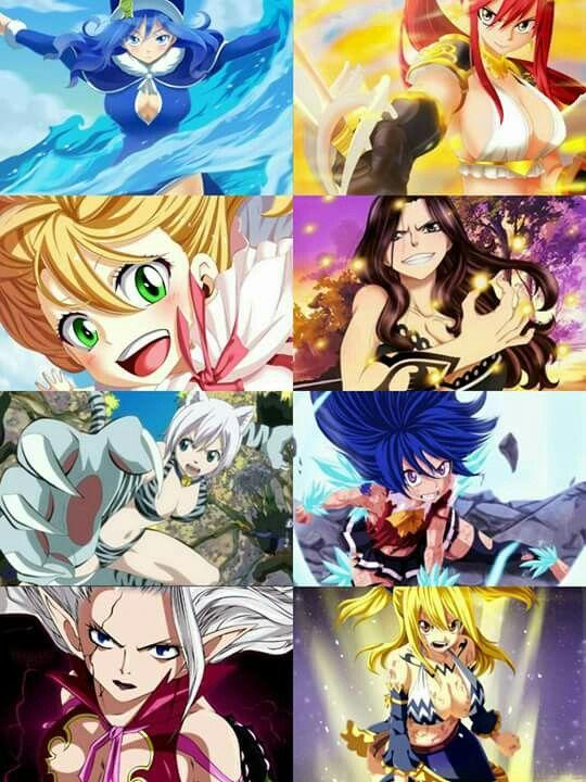 As Magas mais fortes da Fairy Tail