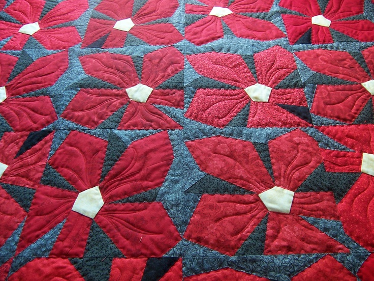 Quilt - Black and Red