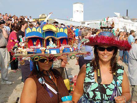 The Crazy Hat Ladies of Fiesta