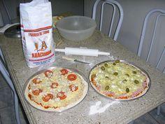 Massa de Pizza Profissional
