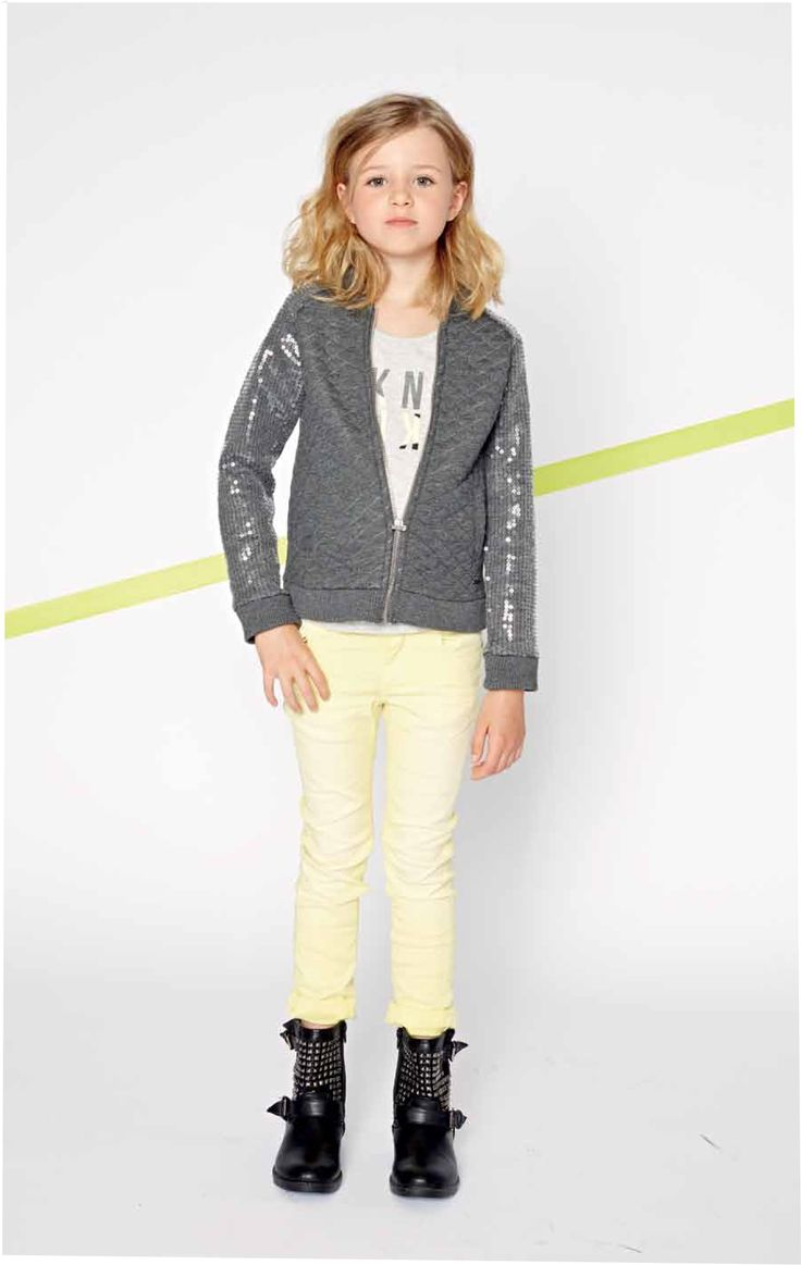 grey jacket with sequines sleeves