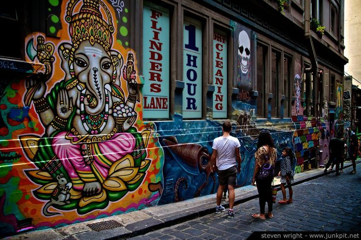 Melbourne Street Art – Awesome Art   junkpit