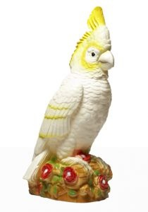 Cockatoo Lamp  Australiana at its best, this stunning cockatoo is the most lifelike of any of our Heico lamps. But unlike the real thing it won't endlessly chatter or try and steal your ice vovo while you have a cuppa. A perfect gift for him or for a new arrival or better yet something just for you.  www.downtothewoods.com.au