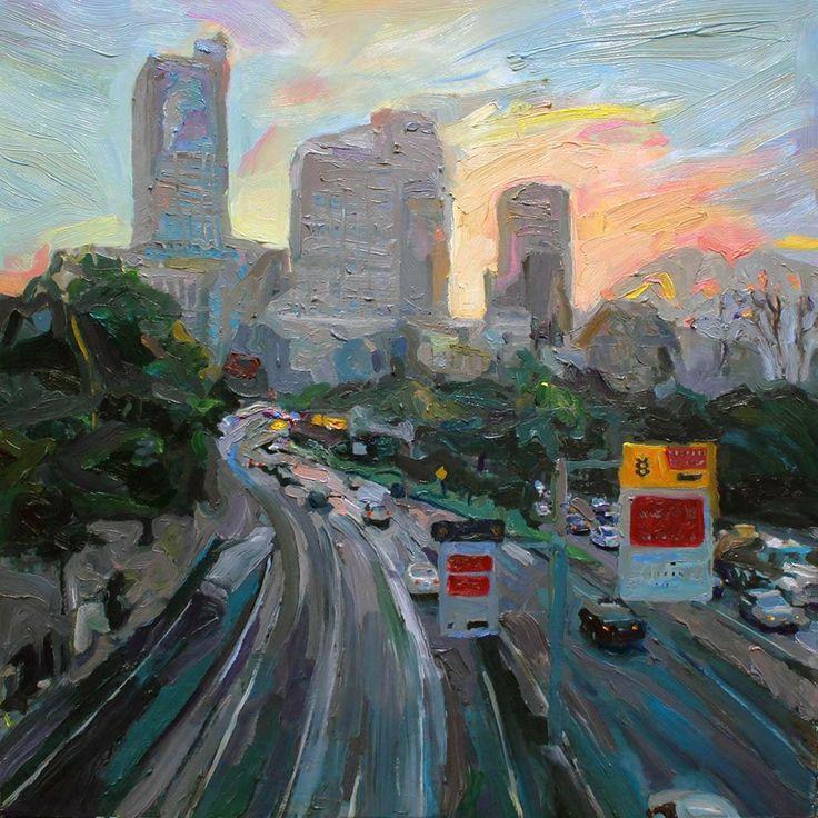 Richard claremont art sydney australia cityscape for Art photos for sale