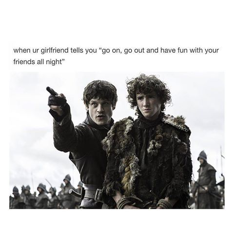 Game of Thrones funny meme. Yep it's a trap