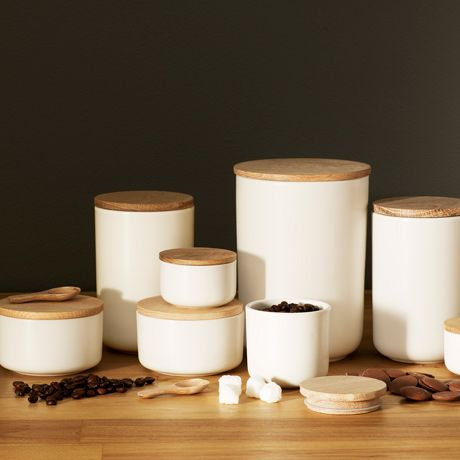 Dane Canister 19cm | Freedom Furniture and Homewares $24.95 #freedomaustralia #christmas