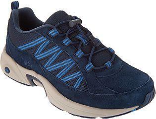 Ryka As Is Suede Bungee Hiking Sneakers - Catalyst